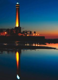 El faro más alto de España esta en Chipiona, Cádiz y cumple 150 años