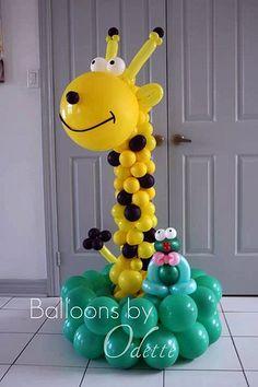Balloons by Odette - Giraffe | Flickr - Photo Sharing!