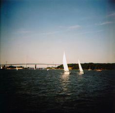 Hafenrundfahrt Stralsund (c) Lomoherz.de  #Diana F+
