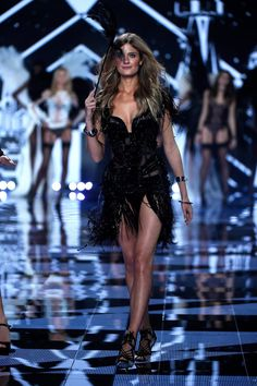 Pin for Later: The Angels Take the Runway For the VS Fashion Show Victoria's Secret Fashion Show 2014 Constance Jablonski