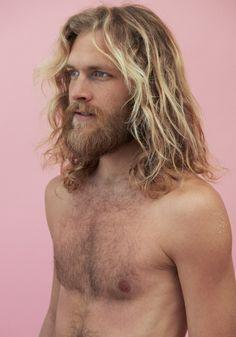 Hairy blonde mature