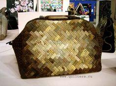 Borse nell'Arte del mosaico    Quilt bags So pretty! Hugs, Ulla's Quilt World