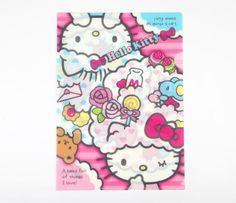 Hello Kitty Clear File: Colorful Dream
