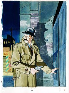 Vittorio Giardino, Sam Pezzo, original cover art