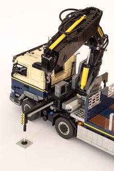 Lego Technic Truck, Lego Truck, Lego Crane, Lego Universe, Us Military Aircraft, Lego Vehicles, Leaf Spring, Rc Cars, Legos