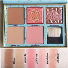 """TRENDMOOD (@trendmood1) on Instagram: """"#SWATCHES  All in one #BEAUTIFUL Palette ✨ The #CheekParade by @benefitcosmetics A NEW…"""""""