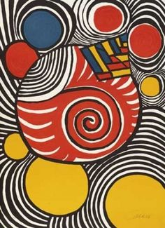 Alexander Calder - Spirales et pyramides
