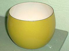 Vintage DANSK Kobenstyle Yellow Enamelware by VintageBargainHound, $30.00