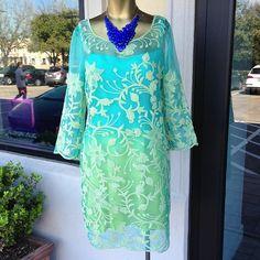 Beautiful Yoana Baraschi ombre dress. @ Carrie Ann