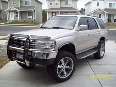 1998 toyota 4runner 20 chrome panther emr 304 wheels rims wild country 275