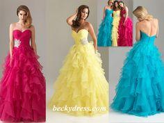 Organza Prom Dresses