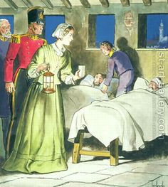 nursing, the soldiers - kissed the shadow she had after walking behind with the Lamp; when she was doing her rounds every night - for nearly 2000 soldiers