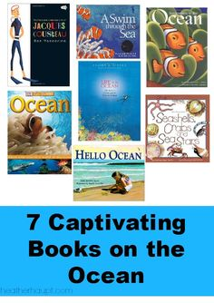 7 engaging and captivating books about ocean exploration and learning