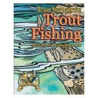 Trout Fishing Activity and Coloring Book #Troutfishing