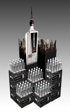New Amsterdam Gin Point of Sale Marketing. by Laurence Peters, via Behance
