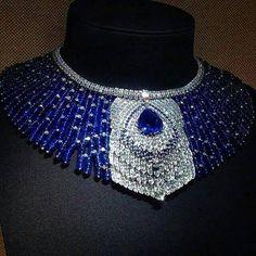 Cartier Platinum, Diamond and Sapphire Peacock Necklace Art Deco Jewelry, High Jewelry, Gems Jewelry, Jewelry Design, Bullet Jewelry, Designer Jewelry, Jewelry Necklaces, Sapphire Necklace, Sapphire Jewelry