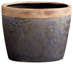 Cyan Design Lighting -  05416 Small Westgate Planter - transitional - indoor pots and planters - by Lighting Front