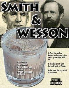 Millions of People Enjoy Pocket Cocktails. Mixed Drinks Alcohol, Alcohol Drink Recipes, Liquor Drinks, Cocktail Drinks, Kahlua And Cream, Alcholic Drinks, Alcoholic Beverages, Shot Recipes, Drink Specials