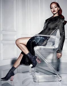 Rihanna captures the sensuality and the decadence of Dior's Fall-Winter 2015 collection in a new photo spread in the brand's signature magazine. The Barbadian beauty has made major inroads into fashion on top of her chart-topping music career. Read More and See 12 New Photos Here! http://go.shr.lc/1M3Jb1p