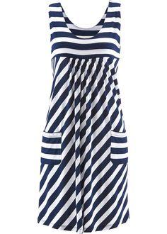 Commandez maintenant Robe extensible bleu foncé/blanc rayé - bpc bonprix collection à partir de 19,99 ? sur bonprix.fr. Avec 2 petites poches plaquées ...