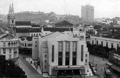 Teatro Joao Caetano no Rio de Janeiro/RJ em foto dos anos 30