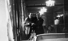 Selfie James & Roy Schatt, NYC
