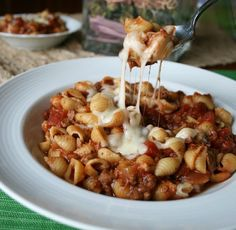 Crockpot Lasagna Soup.  This was great comfort food!