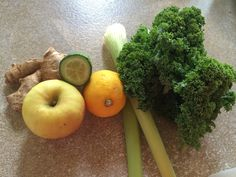 The Green Monster Juice Green Eyed Monster, Green Monsters, Start The Day, Recipe Of The Day, Breakfast Ideas, Juice, Fruit, How To Make, Recipes