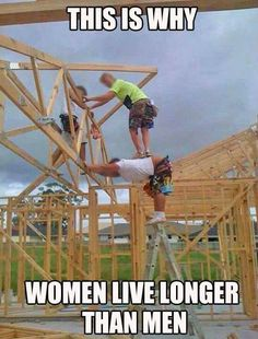 Why women live longer than men