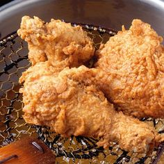 Rosemary-Brined, Buttermilk Fried Chicken.... must try!