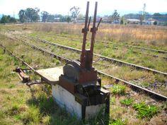 Point switcher at Jennings NSW near Wallangarra, Qld