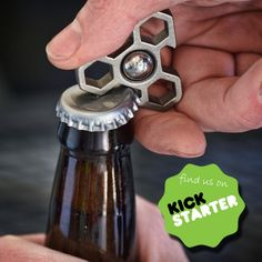 If you haven't seen it already, please take a look at our newest Kickstarter project, the Beertop Delta - Spinning Bottle Opener! We think you guys will love it!https://www.kickstarter.com/projects/pangeadesigns/beertop-delta-spinning-bottle-opener