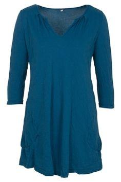 Vigorella Scoop Pocket 3/4 Slv Tunic - Womens Tunics - Birdsnest Online Fashion