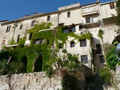 ramparts of St Paul de Vence