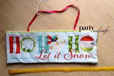 christmas decoration quilt  panel