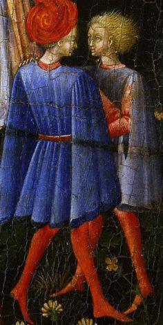 Giovanni di Paolo - Paradiso, dettaglio - 1445 - The Metropolitan Museum of Art, New York