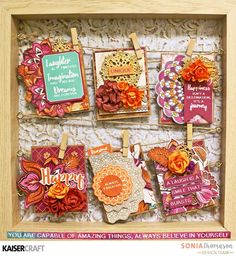 """Group Post Featuring """"Sage and Grace"""" and """"Bombay Sunset"""" - Kaisercraft Official Blog"""