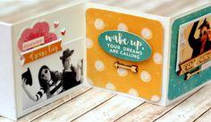 Hi Mini Album by Melania Bertin featuring Jilliben Soup Bowl of Dreams collection.