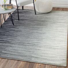 Colunga Black Area Rug by Mercury Row Grey Carpet Bedroom, Beige Carpet, Living Room Carpet, Formal Living Rooms, Black Carpet, Contemporary Area Rugs, Modern Area Rugs, Carpet Decor, Carpet Ideas