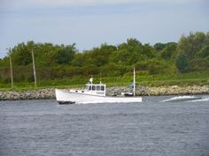 """""""Lobster Boat"""" by J.S. Petralito Oct 2, 2012 (c) Cape Cod Canal"""
