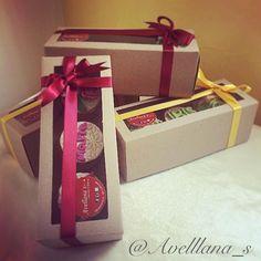 Caja de regalos 3 cupcakes