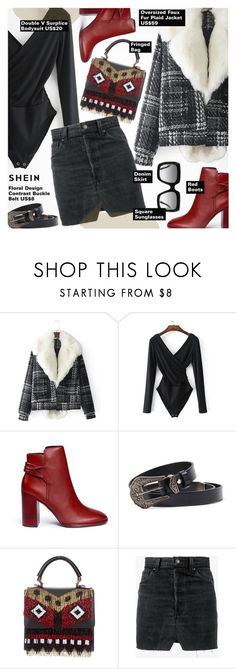 """""""Going Out"""" by pokadoll ❤ liked on Polyvore featuring Mercedes Castillo, Les Petits Joueurs, Vetements and Gucci"""