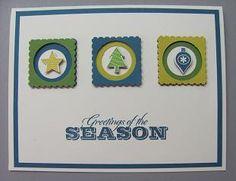 Lynn Starzl again!  Cute, easy Christmas card! 6a0120a5c157eb970b017c31644312970b-pi 239×311 pixels