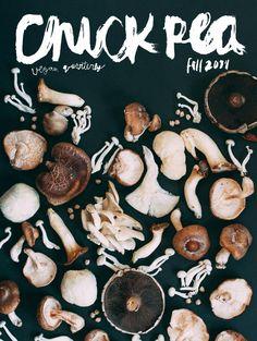 Chick Pea y las setas - El Portadista Magazine Cover Design, Magazine Covers, Food Patterns, Newsletter Design, Food Design, Menu Design, Layout Design, Lettering, Editorial Design