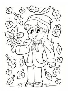Frunze de toamna de colorat 20 Fise de lucru gradinita is part of Autumn preschool theme - Preschool Coloring Pages, Fall Coloring Pages, Coloring Sheets For Kids, Free Printable Coloring Pages, Bullet Journal Halloween, Art And Craft Videos, Fall Projects, Family Crafts, Autumn Activities