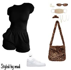 Swag Outfits For Girls, Teenage Girl Outfits, Teen Fashion Outfits, Cute Casual Outfits, Kpop Outfits, Skirt Outfits, Summer Outfits, Cute Outfits For School, Chill Outfits