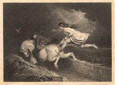 Illustration to Tam o'Shanter by Dumfries Museum, via Flickr
