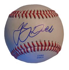 LA Angels Johnny Giavotella signed Rawlings ROLB leather baseball w/ proof photo.  Proof photo of Johnny signing will be included with your purchase along with a COA issued from Southwestconnection-Memorabilia, guaranteeing the item to pass authentication services from PSA/DNA or JSA. Free USPS shipping. www.AutographedwithProof.com is your one stop for autographed collectibles from Los Angeles sports teams. Check back with us often, as we are always obtaining new items.