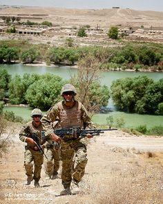40 Cdo Royal Marines on Foot Patrol in Kajaki, Afghanistan by Defence Images, via Flickr