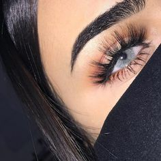 """It can make deep dark brown eyes, turn into this natural looking bright gray eyes."""" Yearly contact lenses, without limbal ring Dark Brown Eyes, Gray Eyes, Cute Eyes, Pretty Eyes, Beauty Makeup, Hair Makeup, Hair Beauty, Eyebrow Makeup, Colored Eye Contacts"""